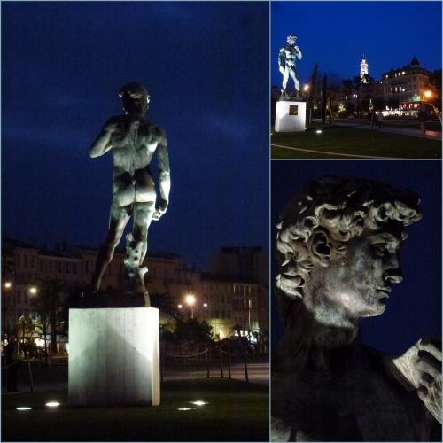 David, Michel-Ange, Nice, Promenade du paillon