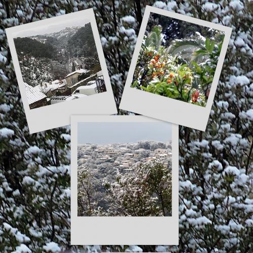 neige février 2018 à cagnes