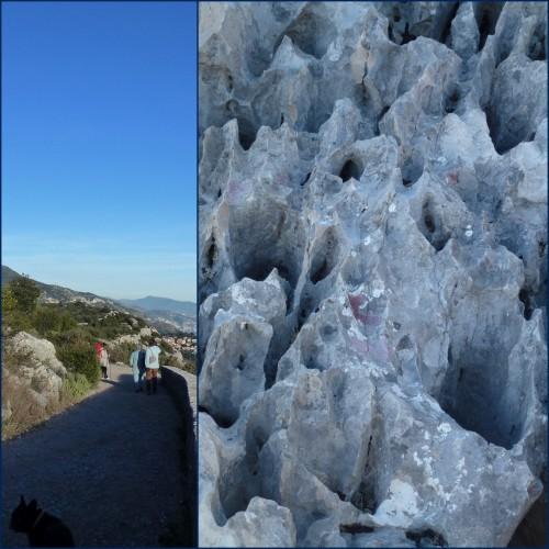 nice mont boron,eze fort de la revère,parc départemental de la grande corniche