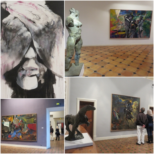 Franta, Musée de Vence, Le temps d'une oeuvre, Chapelle des pénitents blancs