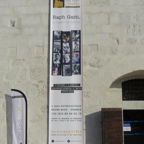 Galerie lympia Nice, expo Ralph Gatti