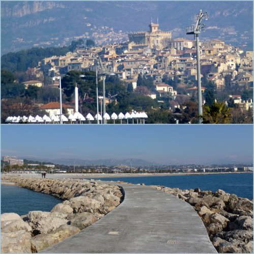 Cros de Cagnes, Cagnes sur mer, Promenade du bord de mer