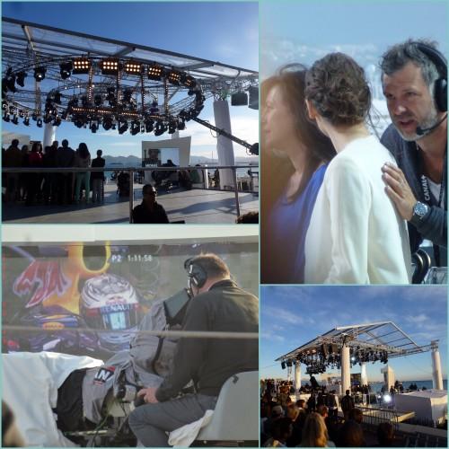 Cannes, Festival de Cannes, Le grand journal de Canal +, Lio, Yolande Moreau