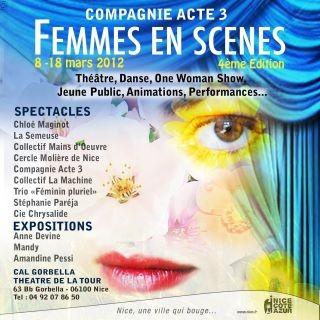 Festival femmes en scène