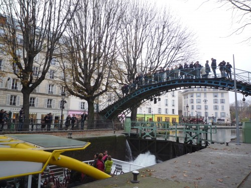 Canal St Martin, Paris 10ème arrondissement
