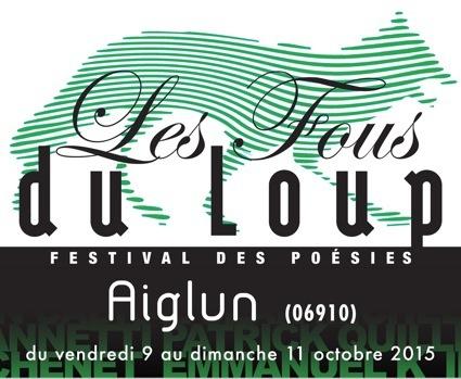 les fous du loup 2015, festival de poésie, aiglun