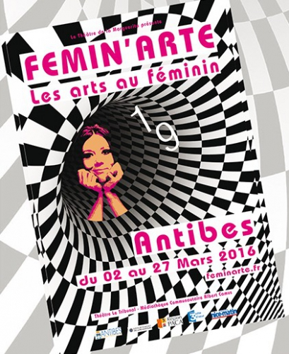 Femin'arte 2016, Antibes