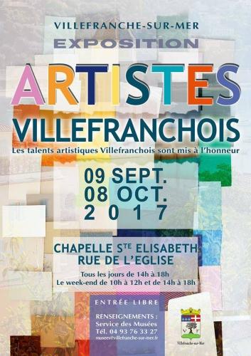artistes villefranchois, chapelle sainte elisabeth